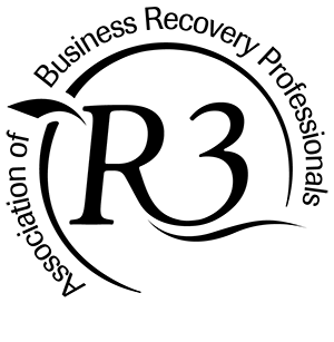 R3 logo black