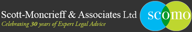 Scott moncrieff legal advice logo